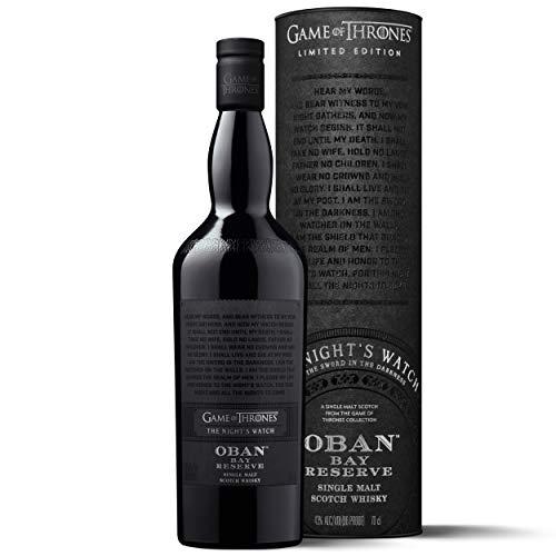 """Oban Little Bay Reserve Single Malt Scotch Whisky """"Die Nachtwache Game of Thrones Limitierte Edition"""" [Amazon]"""