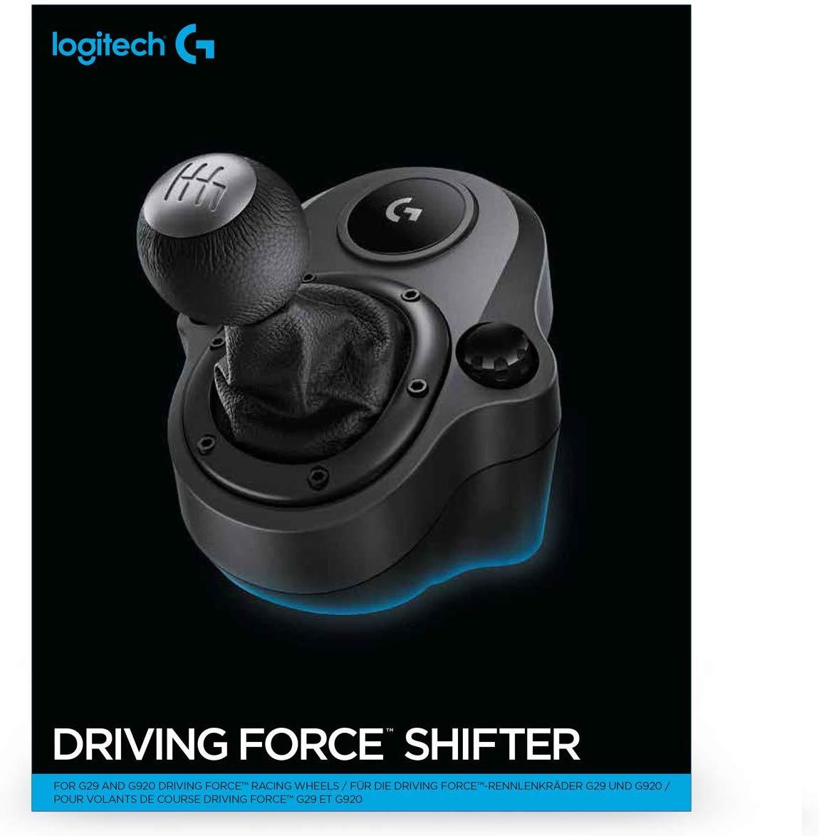 Logitech Driving Force Shifter Schalthebel für G920 und G29 Racing Lenkräder für 29€ (Amazon)
