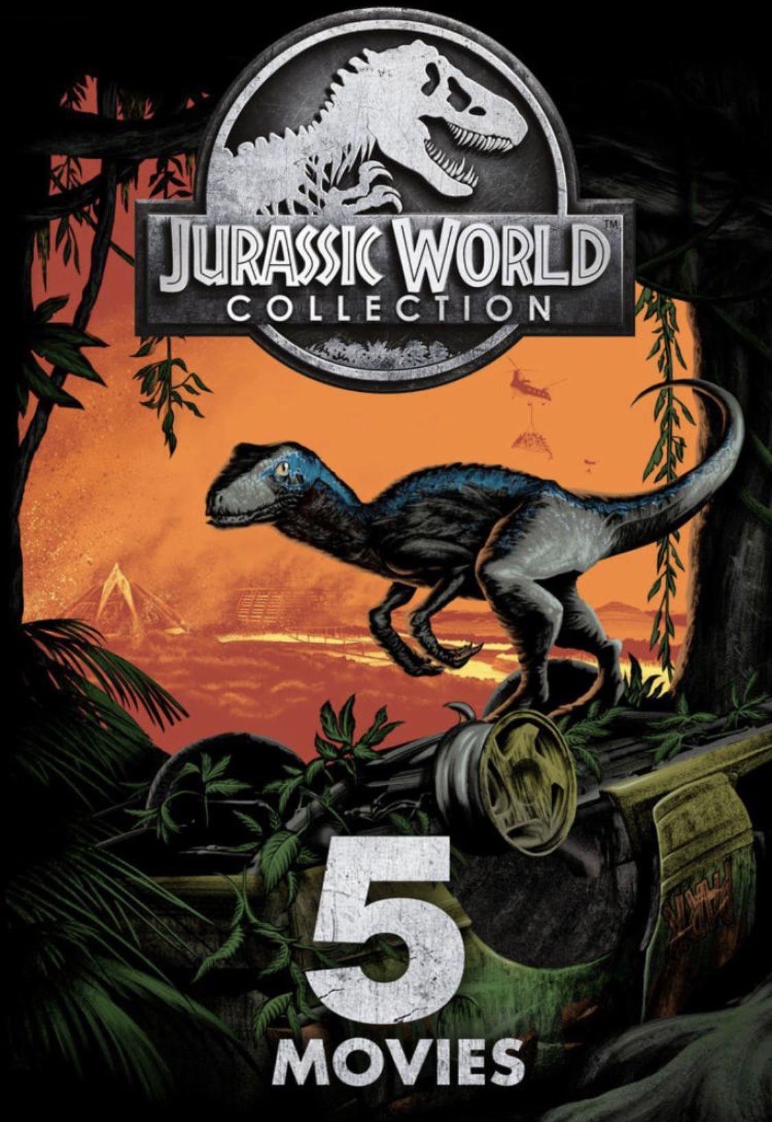 [iTunes] 4K Jurassic Park Bundle 5 Filme für 19,99€