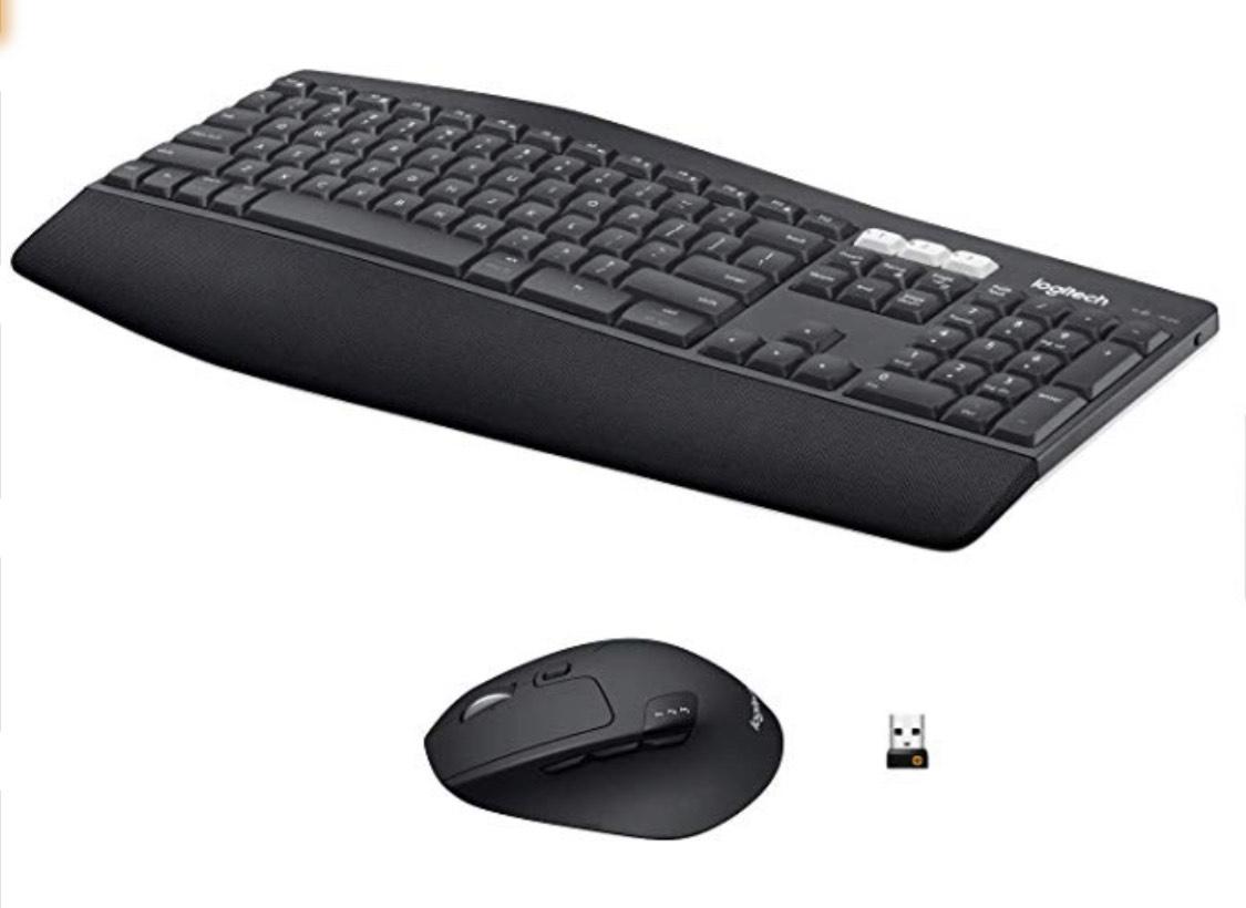 Logitech MK850 Performance Kabellose Tastatur und Maus Combo (USB, Bluetooth) QWERTZ Deutsches layout - Amazon.de