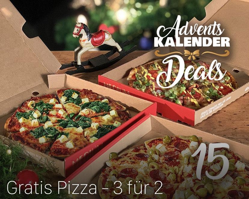 [Dominos] Gratis Pizza - 3 für 2