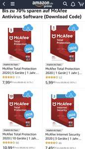 McAfee Total Protection 1 Jahr