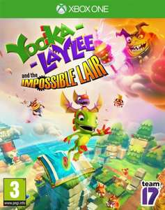 Yooka-Laylee and the Impossible Lair (Xbox One) für 18,14€ & (PS4) für 19,34€ (Base.com)