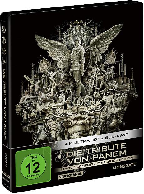 [Thalia] Die Tribute von Panem: Limited Complete Edition (4K Ultra-HD Blu-ray Steelbook) für 48,37€ inkl. Versand