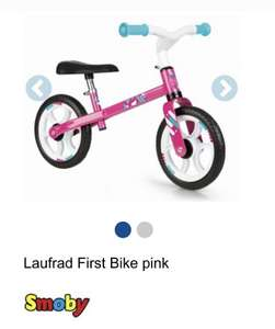 Smoby Laufrad Pink