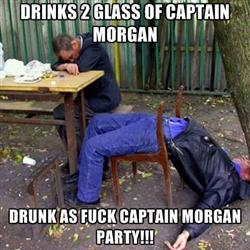 Captain Morgan 0,7l + Glaskrug bei REWE