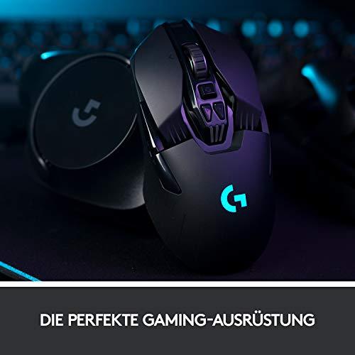 Logitech G903 Lightspeed kabellose Gaming-Maus (mit Hero 16K-Sensor) - Deutsche Version