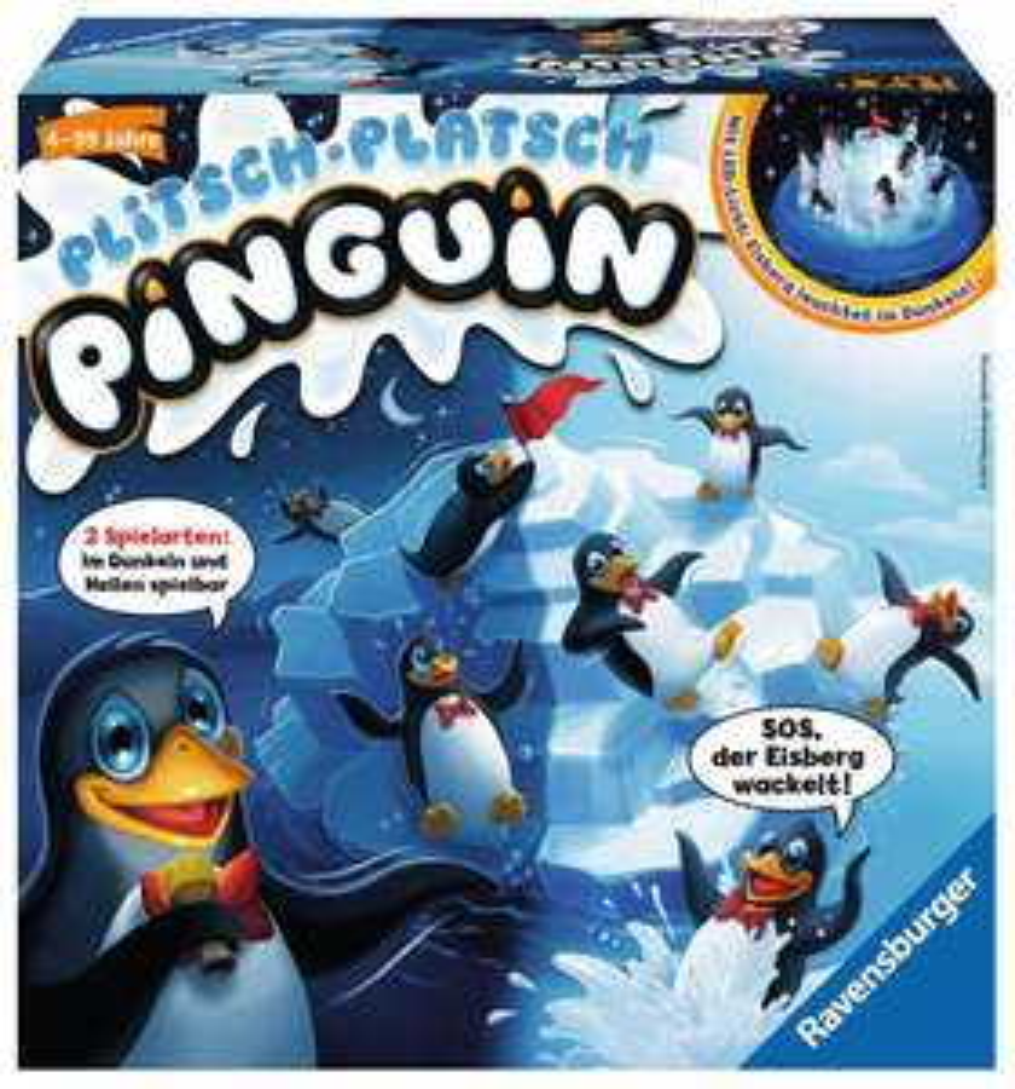 Amazon Prime Deal Ravensburger Plitsch Platsch Pinguin