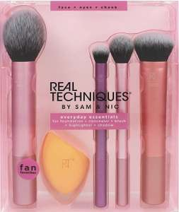 Real Techniques Everyday Essentials Make-up-Pinsel-Set