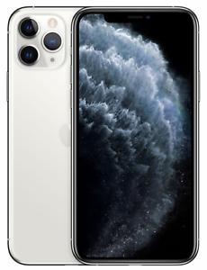 Apple iPhone 11 Pro - 256GB - Silber (Ohne Simlock) NEU OVP MWC82ZD/A EU