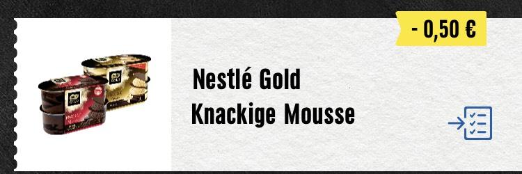 [EDEKA bundesweit] Nestle Gold Mousse mit App (0,19 möglich)