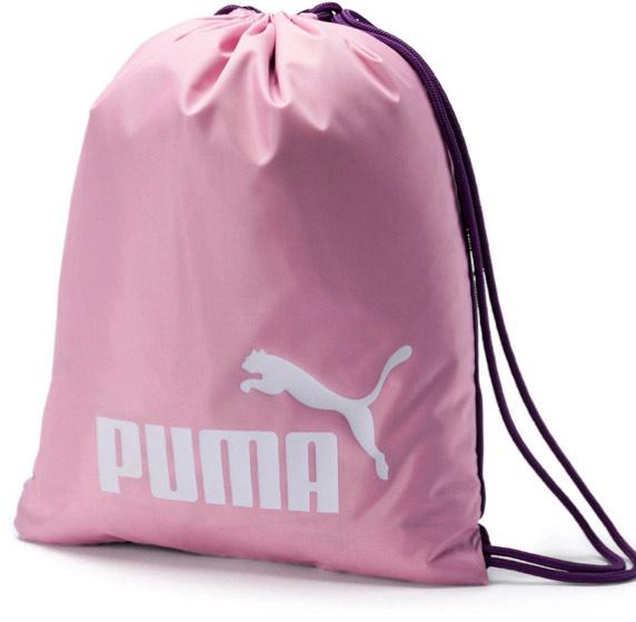 [Ausverkauft]Puma Classic Turnbeutel in rosa für 5,20€ inkl. Versand (statt 11€)