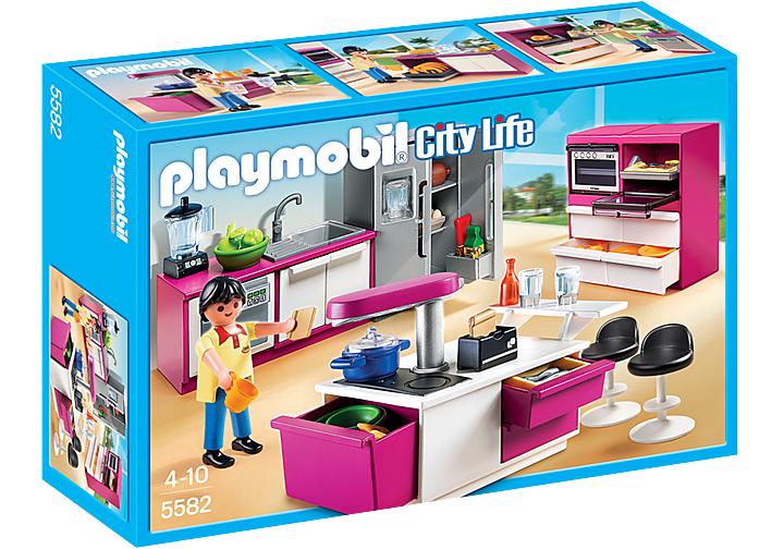 Playmobil Designerküche City Life Puppenhaus Küche 5582