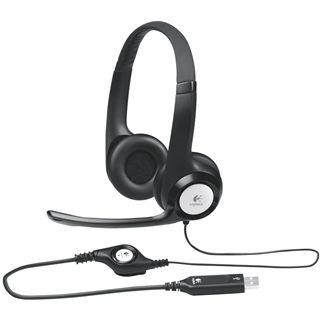Logitech USB Headset H390 schwarz [MindStar]
