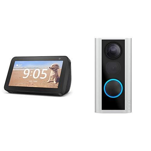 Ring Door View Cam oder Video Doorbell 2 + Amazon Echo Show 5