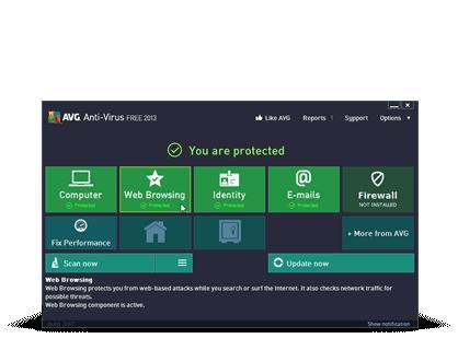 AVG Antivirus 2013 - 1 Jahr, 1 PC - 3,87€