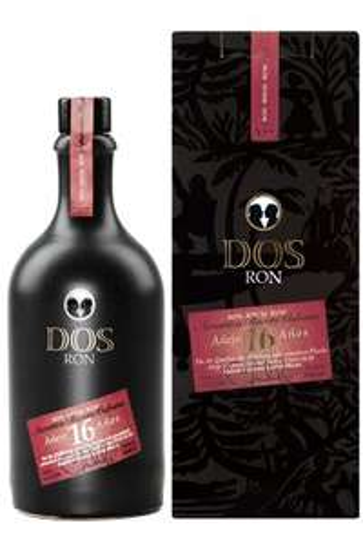 Dos Ron - 16 Jahre Solera - Rum (0,5l 40%)