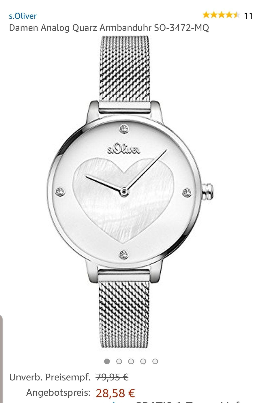 Amazon Prime - S.Oliver Damen Armbanduhr