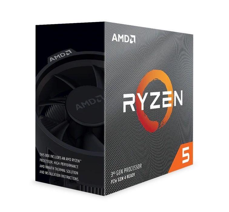 AMD Ryzen 5 3600 CPU BOX Prozessor, 6-Core, 3,6GHz, Socket AM4,BOX