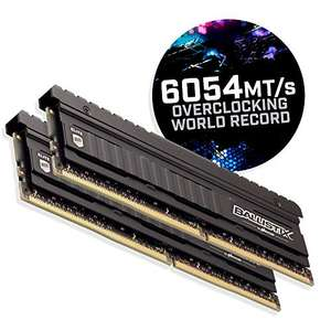 Ballistix TM Elite 16GB DDR4-4000 CL18 (BLE2K8G4D40BEEAK)