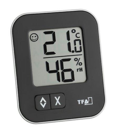 TFA Dostmann Moxx schwarz (Temperatur und Luftfeuchtigkeit) - Plus Produkt