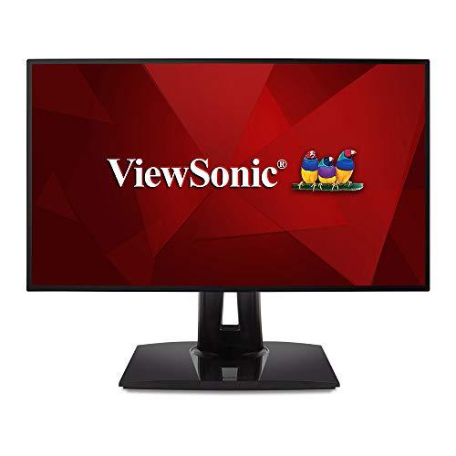 """ViewSonic VP2458 - 23,8"""" FHD IPS Monitor (97% sRGB, 60Hz, Delta E<2 Farbgenauigkeit , ergonomisch, Pivot, VESA, , USB 3.1 Hub, 4J.Garantie)"""