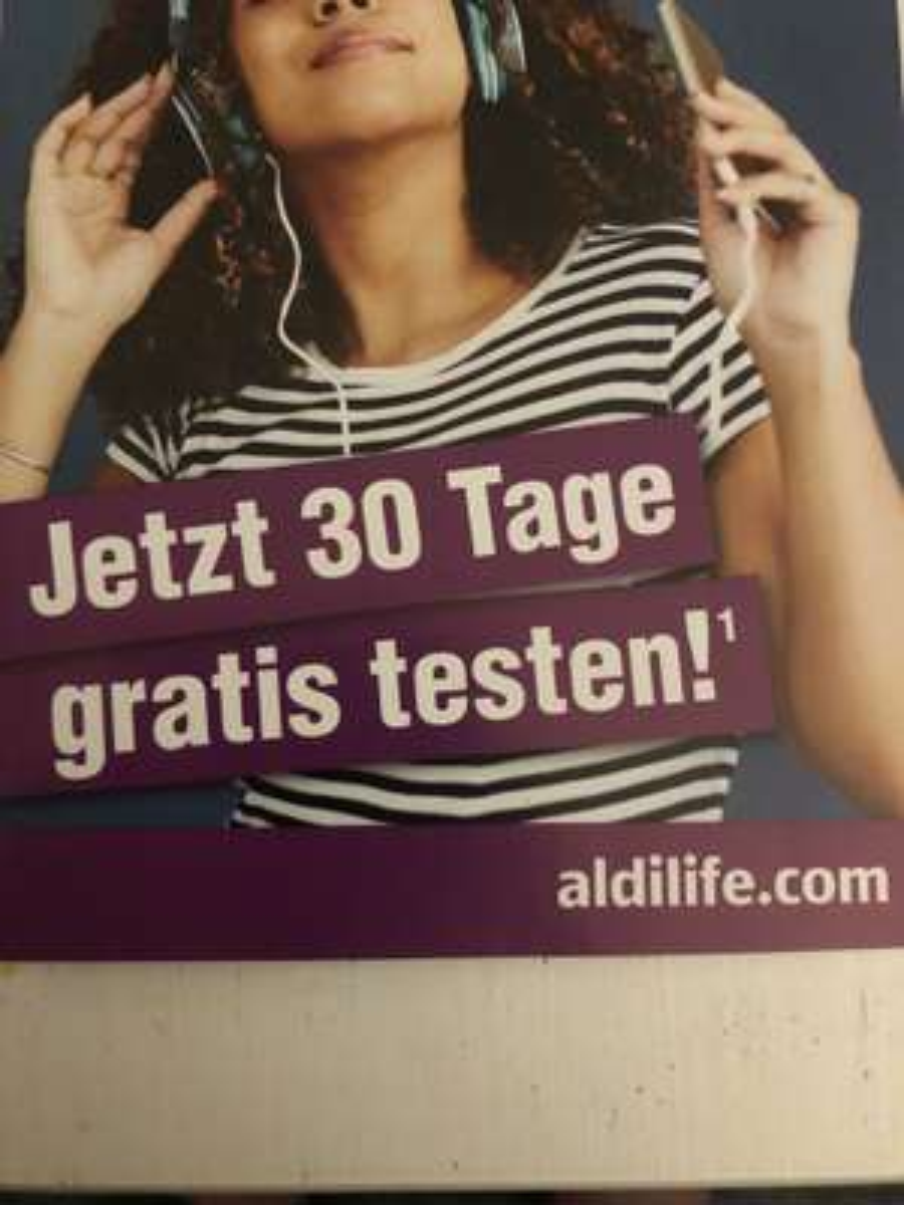 30 Tage kostenlos Aldi life Musik (testen)