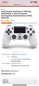 PS4 Controller White