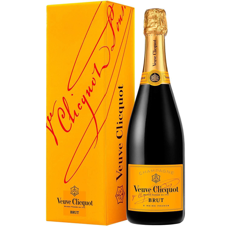 [Lokal tegut] Veuve Clicquot Brut Champagner mit Geschenkverpackung 0,75l Flasche