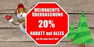 20% auf alle Artikel @Outdoorshop.de