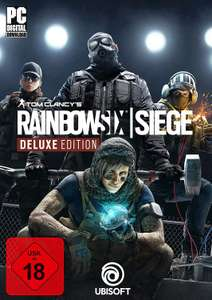 [Amazon - Download] Tom Clancy's Rainbow Six Siege - Deluxe Edition - Deluxe [PC Code - Uplay]