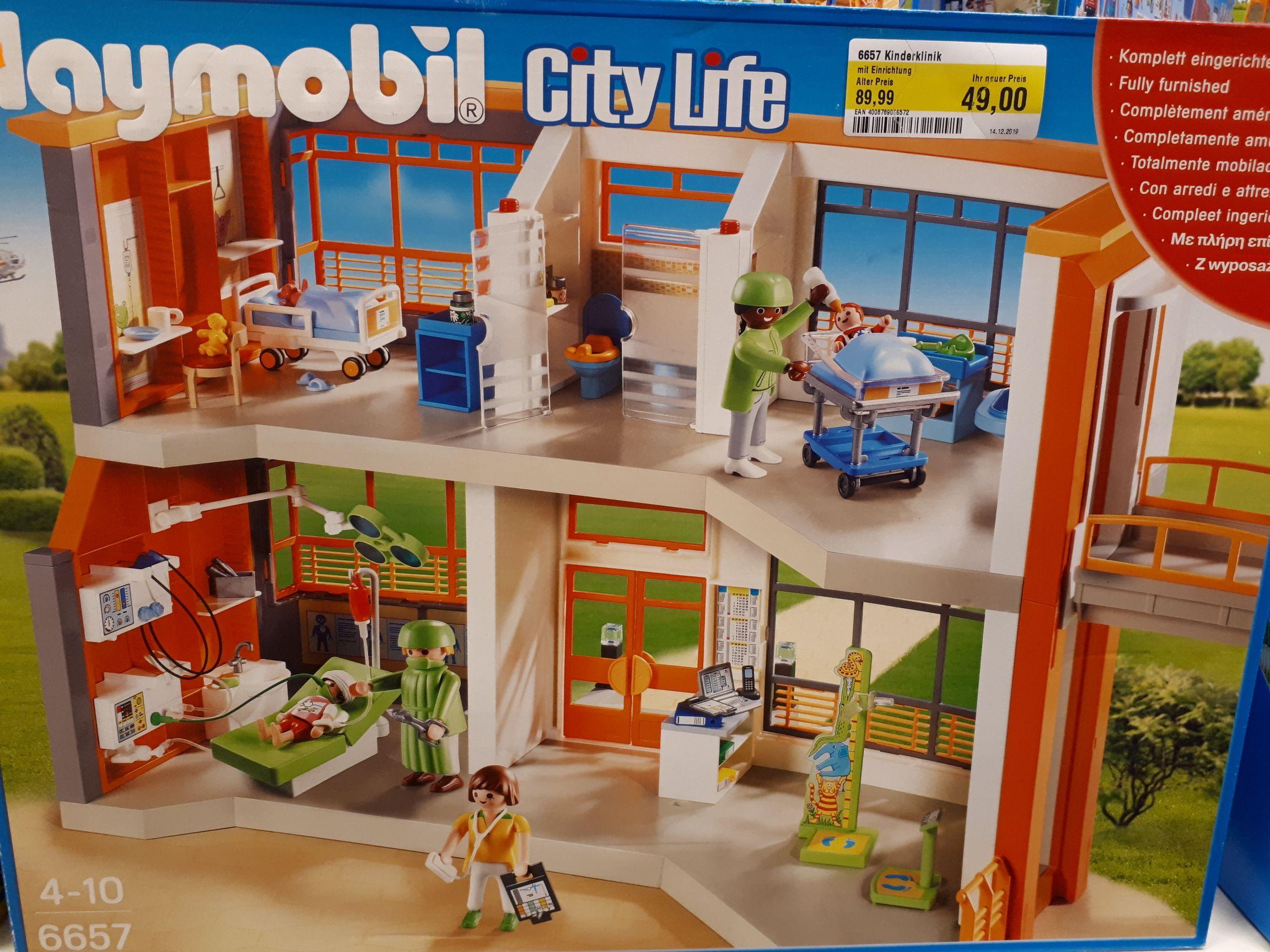 Playmobil Citylife 6657 - Kinderklinik mit Einrichtung **LOKAL**