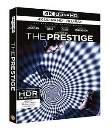 The Prestige (4K Blu-ray + Blu-ray) für 11,10€ oder 2 Stück für 18,20€ (Amazon.it)