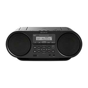 [Amazon] Sony ZS-RS60BT CD und USB Bluetooth Boombox/Radiorekorder (NFC, Mega Bass, UKW Radio)