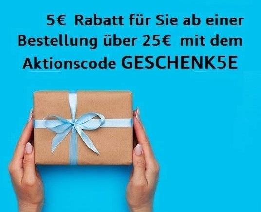 Amazon - 5€ Rabatt ab 25€ Einkaufswert