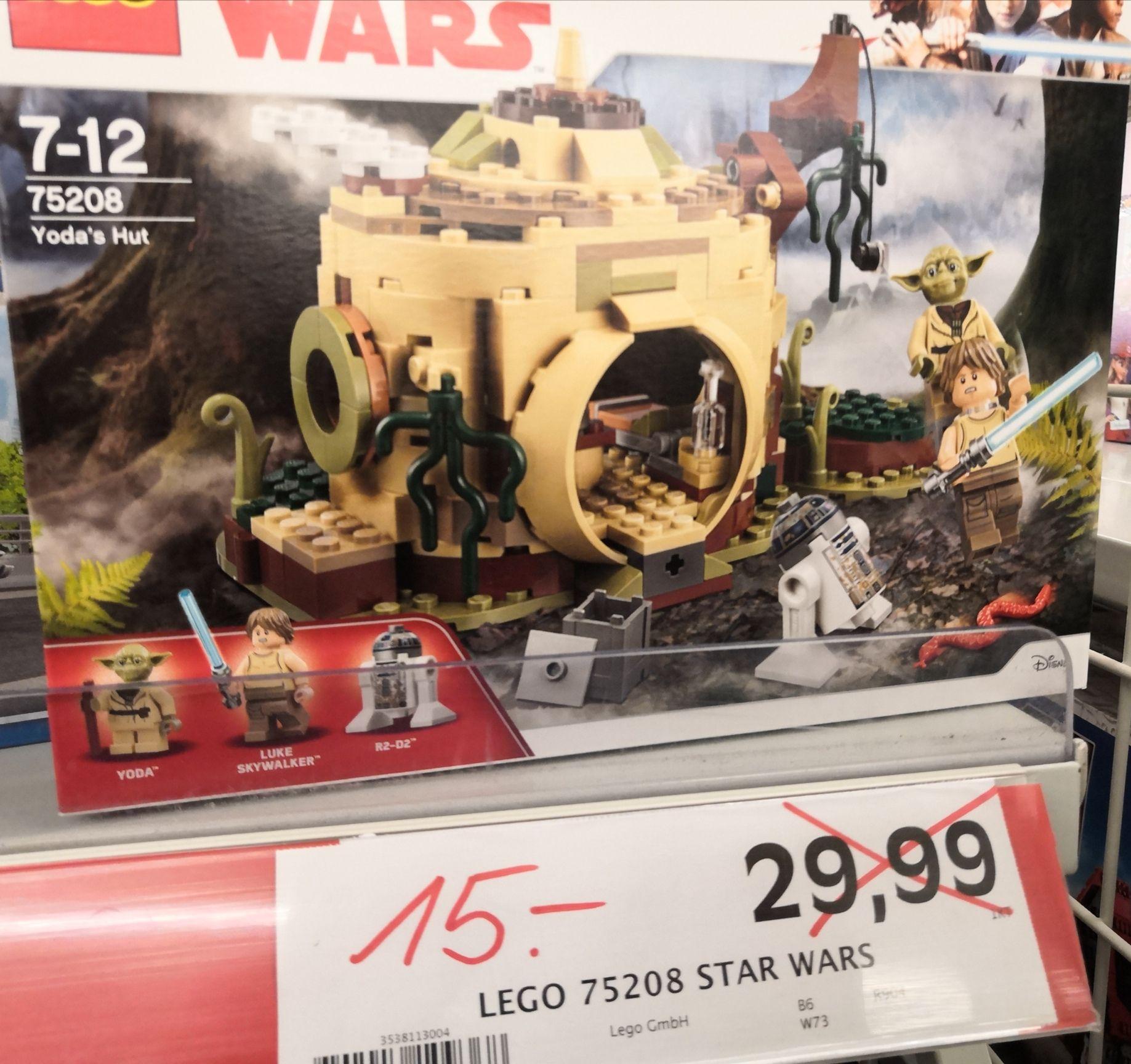 [Lokal Marktkauf Senden] Lego Star Wars 75208 Yodas Hütte