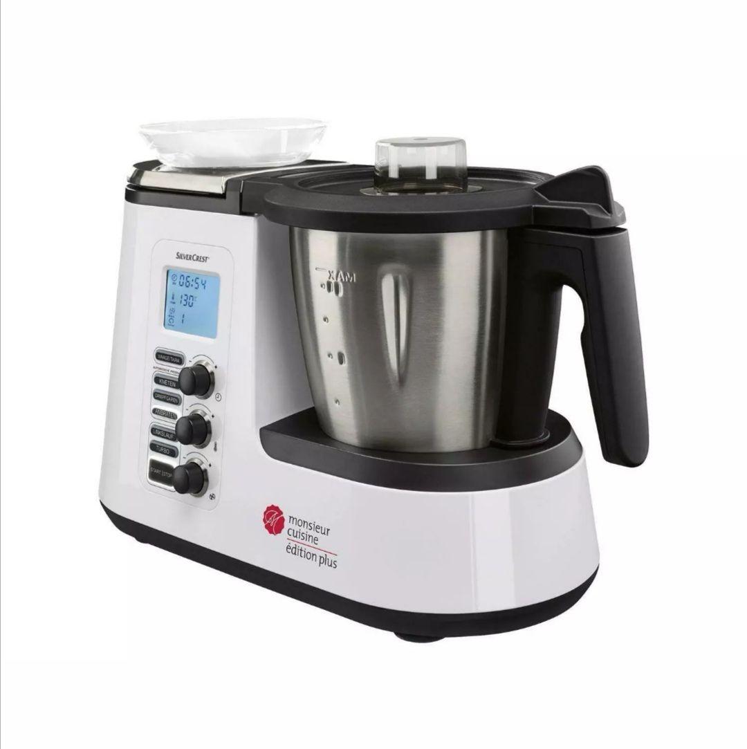 Küchenmaschine Monsieur Cuisine Édition Plus SKMK 1200 C3 B-Ware Vorführer