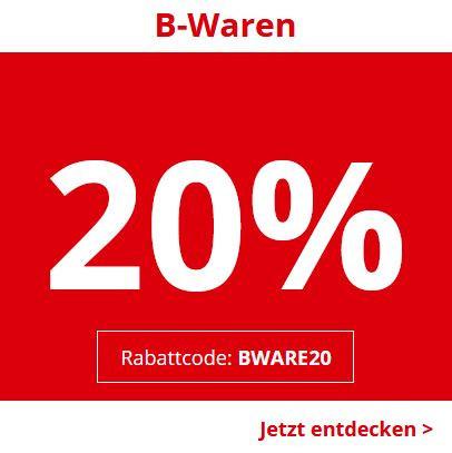 20% auf B-Ware bei Medion
