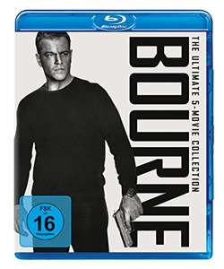 Bourne - The Ultimate 5-Movie-Collection (Blu-ray) für 19,97€ (Amazon Prime)