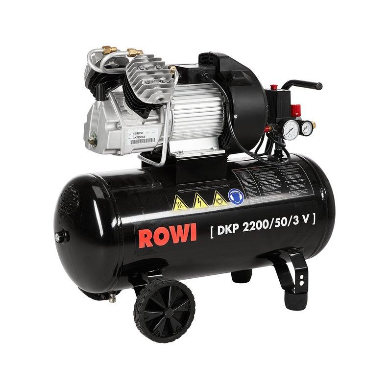 Kolbenkompressor DKP 2200/50/3 V 50l 10 Bar 2,2kW