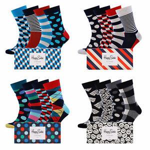 Stinkemauken? | Happy Socks Geschenkbox mit 4 Paar Socken (Gr. 36-46)