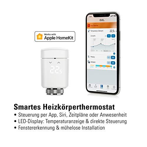 Eve Thermo - Smartes Heizkörperthermostat (3. Gen / 2019)