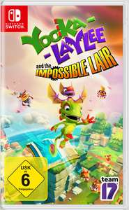 Yooka-Laylee and the Impossible Lair Switch (Nintendo eShop) für 22,49€