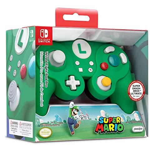 PDP Nintendo Switch Wired Fight Pad Pro (Super Mario - Luigi) für 20,75€ (Amazon Prime)