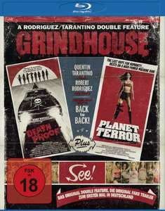 Grindhouse: Death Proof + Planet Terror (Blu-ray) für 4,99€ (Amazon)