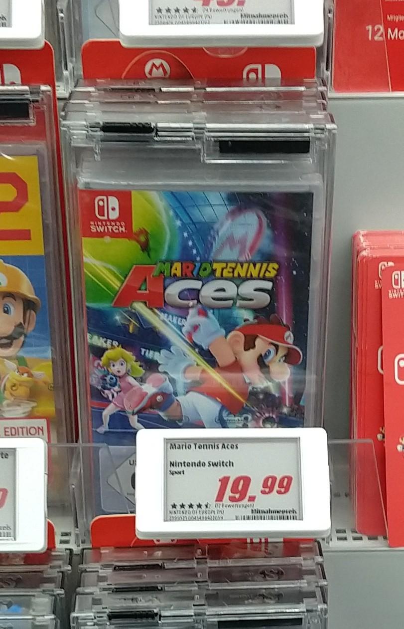 Mario Tennis Aces lokal Mediamarkt Homburg