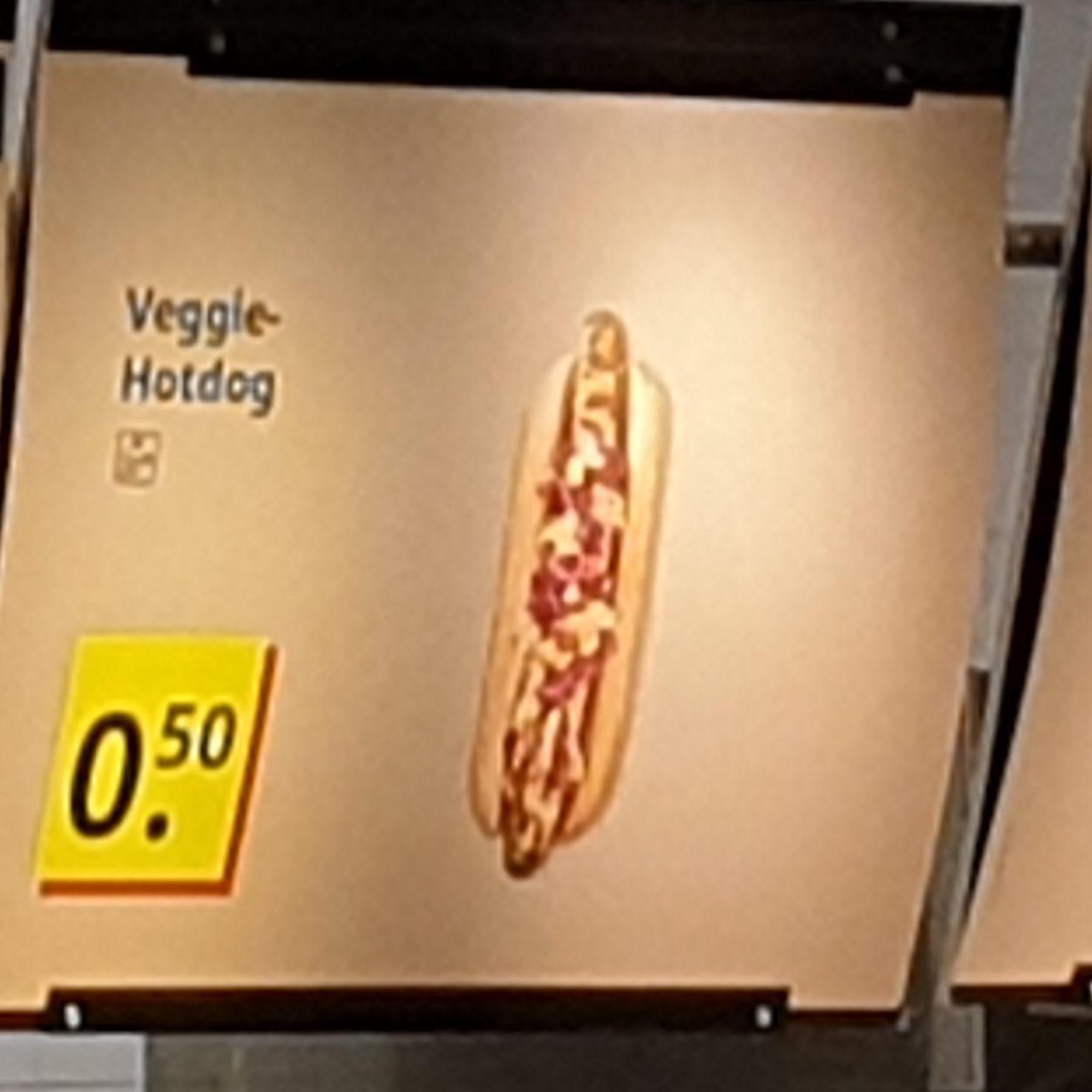 [lokal?]veggie hotdog bei ikea