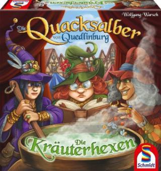 Die Quacksalber von Quedlinburg Die Kräuterhexen Erweiterung (Brettspiel, Gesellschaftsspiel)