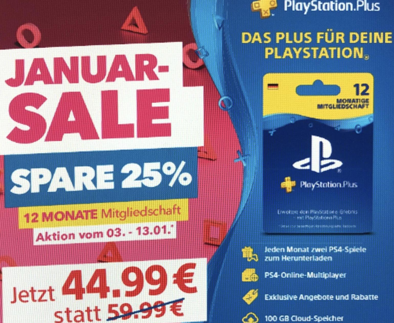 12 Monate Sony PlayStation Plus Mitgliedschaft für 44,99€ - Lidl / MediaMarkt / Gamestop / PlayStation Store / Rewe Kartenwelt / Müller usw.