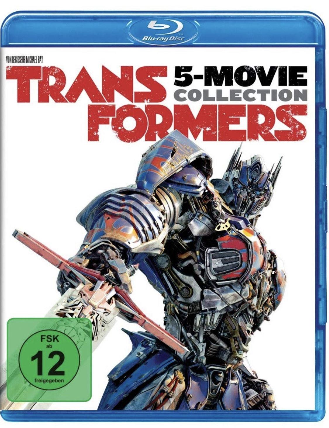 Transformers 1-5 Collection - Bluray - BESTPREIS